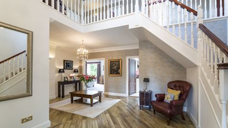 Stairs lead to the first floor from a sizeable entrance hall. Picture: Daniels Estate Agents