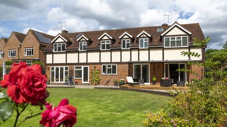The property offers more than 4,400 sq ft of accommodation. Picture: Daniels Estate Agents