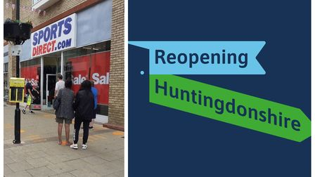 Week Two of the Reopening Huntingdonshire campaign.