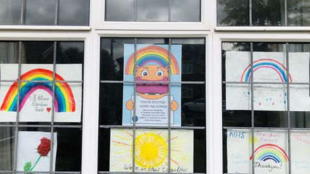 St Albans Rainbow Trails have launched a competition to find Hope the Hippo in aid of Home Start Her