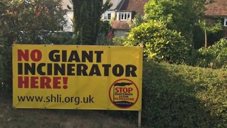 The campaign group are pleased that the Harpenden incinerator will not be going ahead. Picture: Supp