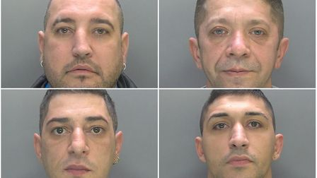 Burglary gang put behind bars after breaking into homes in Huntingdonshire in six-week crime spree.