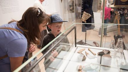 St Albans Museums is to phase the reopening of St Albans Museum + Gallery and Verulamium Museum. Pic