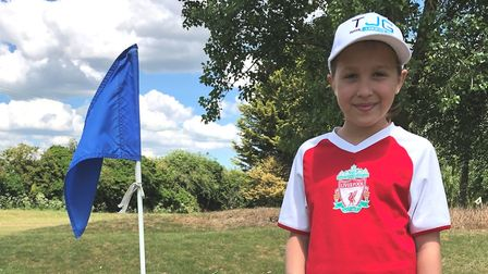 Eliza Sandhurst of Kingsway Golf Centre landed her first hole in one at the age of just eight.