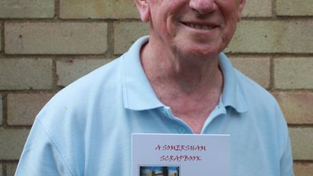 Alan Draper has written a book about the history of Somersham.