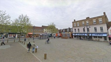 Teenager arrested in St Neots on suspicion of assaulting an emergency worker after disorder in Marke