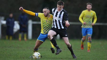 Chris Griffin was named Colney Heath's players' player of the season for the voided 2019-2020 campai
