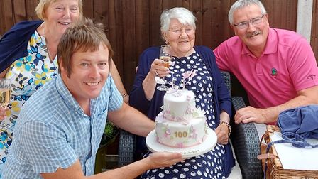 Maureen Russell celebrated her 100th birthday this week. Picture: Supplied