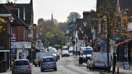 The average tenant in Radlett can expect to spend 88 per cent of their monthly income on rent. Pictu