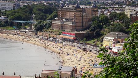 British holiday destinations such as Scarborough have been particularly popular during the pandemic.