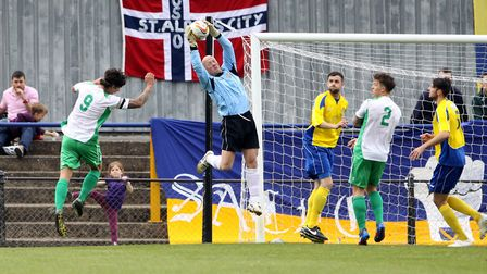 Former St Albans City keeper Paul Bastock is the King's Lynn Town assistant manager. Picture: LEIGH