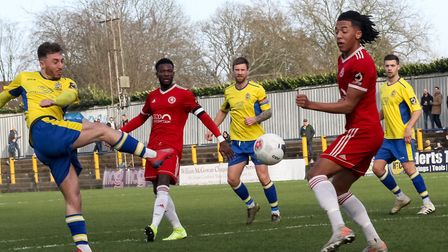 Joe Iaciofano has moved from St Albans City to Havant & Waterlooville. Picture: JIM STANDEN