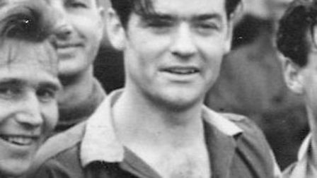Fred Collings of St Albans City in 1951. Picture: SAINTS STATISTICS