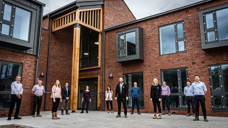 Brand new residential house for Oaklands College unveiled. Picture: Oaklands College
