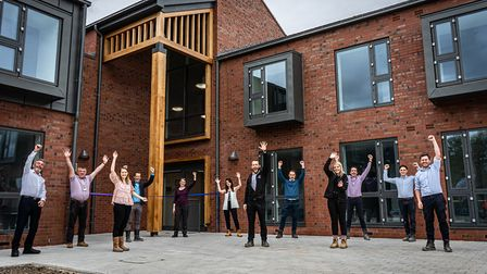 The new accommodation can house up to 80 students. Picture: Oaklands College
