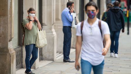 Face coverings being made mandatory in shops has come too late, readers fear. Picture: Dominic Lipin