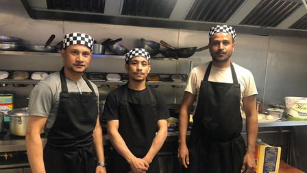 The Spice Cabinet Indian restaurant has opened at the site of a former pub in Reed. Picture: Richard