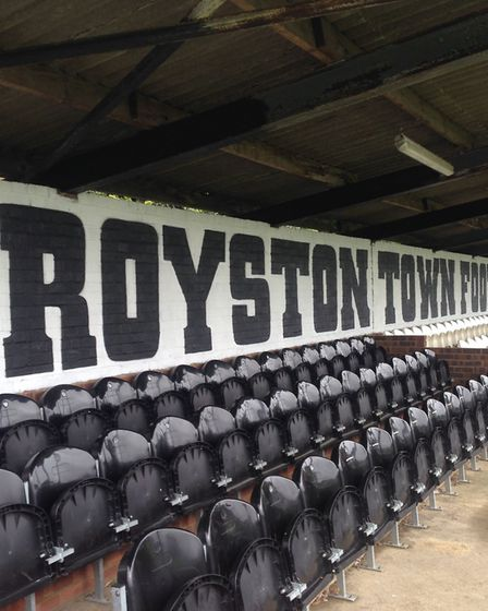 Royston Town FC raised more than £25,000 in their Keep The Crows Flying campaign. Picture: NEIL MACL