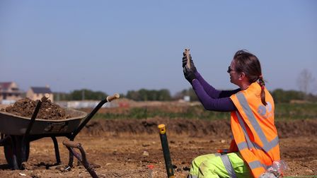 Archaeology dig at Wintringham Park in St Neots reveals evidence of Iron Age