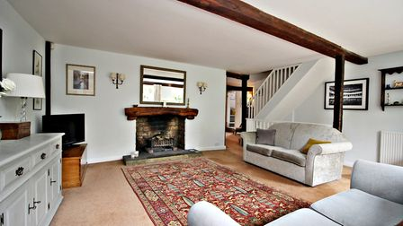 Character features abound, including exposed beams and period fireplaces. Picture: Druce