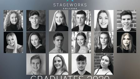 Students reach for the stars despite cancelation of finale show. Picture: STAGEWORKS