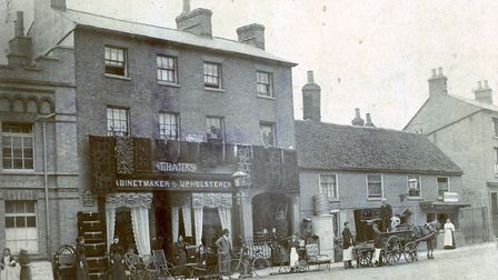 Franks in St Neots circa 1900.
