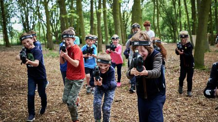Grafham Water gaming company scoops top award for best outdoor activity. Picture: RUMBLE LIVE ACTION