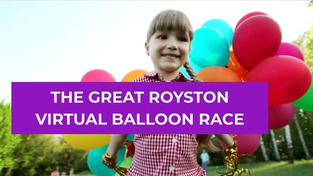 Balloons are now on sale for Royston Rotary Club's virtual balloon race. Picture: Royston Rotary Clu