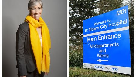 St Albans MP Daisy Cooper has spoken out in favour of a hospital revamp instead of the brand new hos