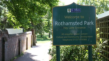 Rothamsted Park. Picture: DANNY LOO