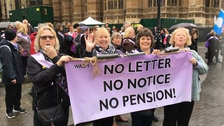 Huntingdonshire WASPI supporters are fighting for womens' pension rights.
