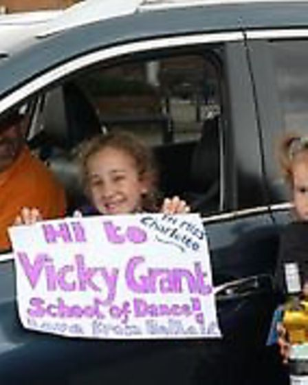 Vicky Grant dance pupils came to the St Ivo Centre to say goodbye.