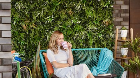 Amanda Holden's BundleBerry collection for QVC UK, faux Living Wall, £54 for set of four panels, QVC