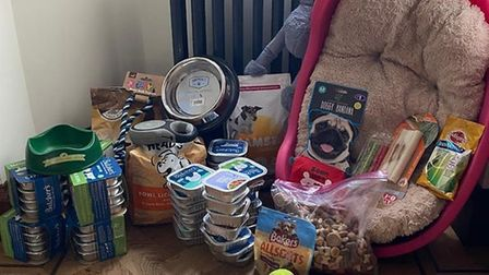 A Hertfordshire pet food bank is available to help or to receive donations. Picture: Supplied