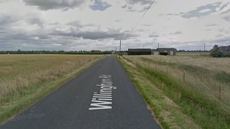 A man has died after his bike left the road and crashed into a fence in Over. Picture: CAMBS POLICE