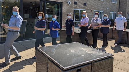 Hospices Star Shine Walkers raise more than 33,500 during lockdown. Picture: Arthur Rank Hospice