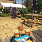 The garden at The White Lion