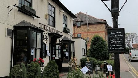 The Mermaid pub in St Albans has reopened its doors following the lockdown.