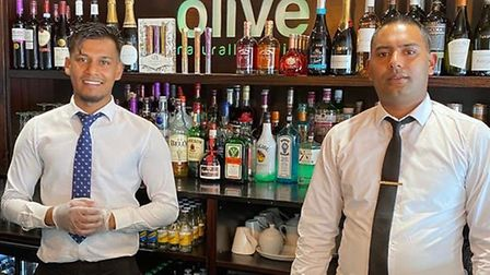 Olive Restaurant in St Neots