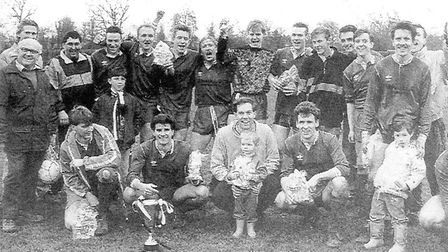 City Hospital Reserves won the Division Four title, the Reserves Cup and the Junior Cup in 1991. Pic