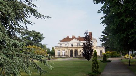 Hanstead House has recently been converted into luxury flats. Picture: Archant
