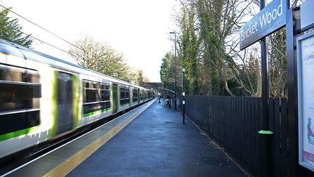 Bricket Wood station runs between St Albans Abbey and Watford Junction. Picture: DANNY LOO