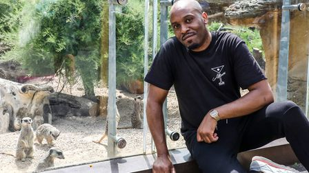 Dane Baptiste is one of many comedians supporting David Attenborough's appeal to help Whipsnade and