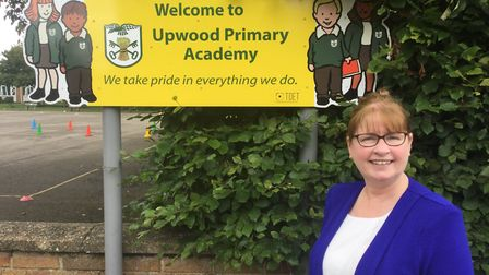 Sharon Whitelaw Headteacher at Upwood Primary Academy PICTURE: Samantha Ladds