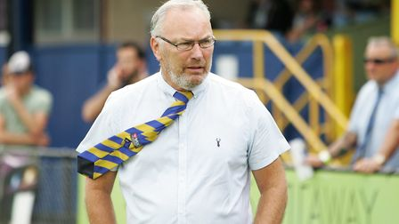 St Albans City manager Ian Allinson. Picture: KARYN HADDON