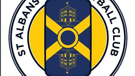 St Albans City Football Club has revealed its new crest. Picture: St Albans City Football Club