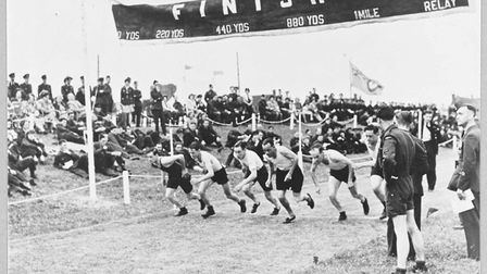 Are you up for taking part in the Duxford Dash at IWM Duxford? Picture: IWM