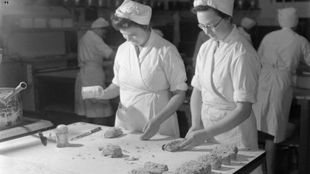 Preparing meals during wartime. Picture: IWM