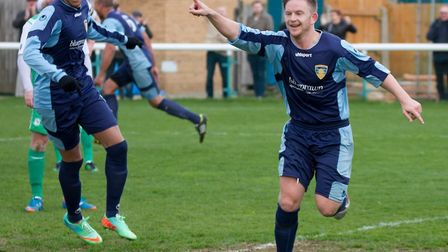 Shane Tolley has signed a new contract with St neots Town. Picture: Claire Howes