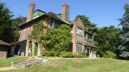 George Bernard Shaw's home Shaw's Corner at Ayot St Lawrence. Picture: Alan Davies